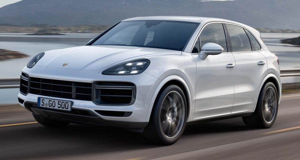 2017 Porsche Cayenne Gts >> Porsche Cayenne Turbo (2017, E3, third generation) photos