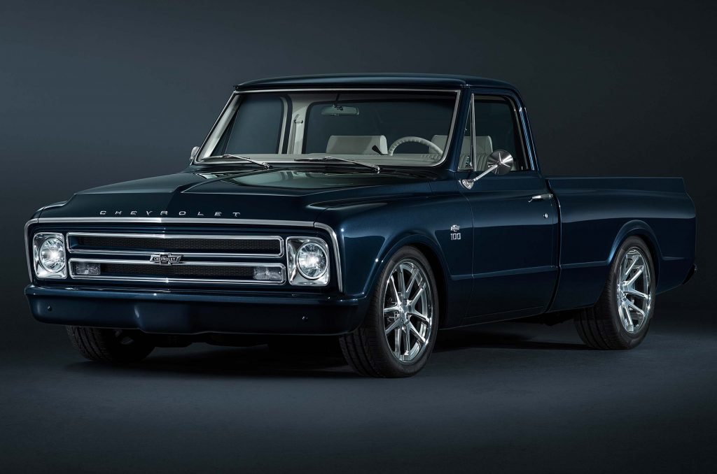 Black Friday Car Deals >> Chevrolet C10 Centennial SEMA Truck (1967, 2017 restomod) photos | Between the Axles