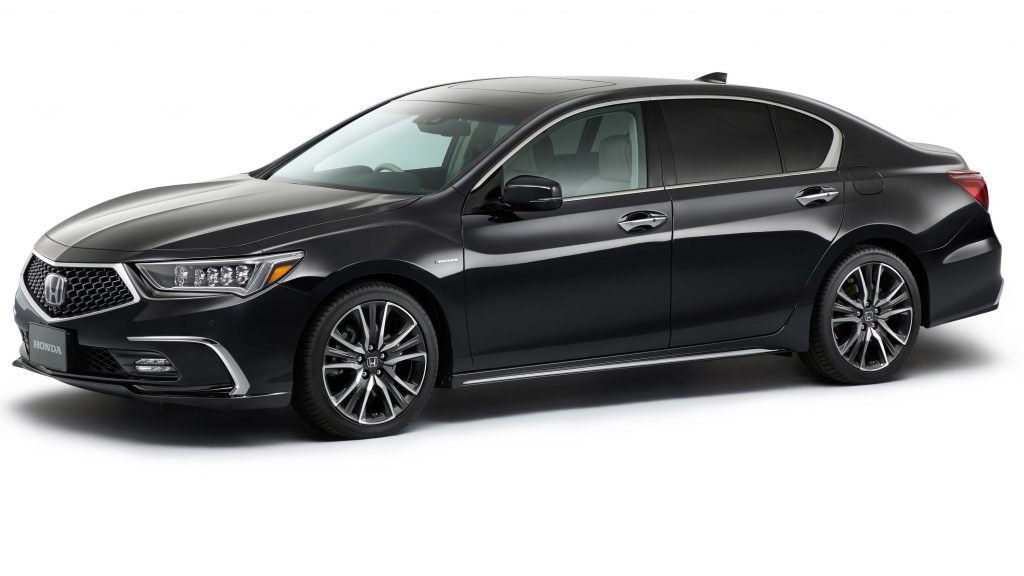 Honda Legend facelift (2017, fifth generation, JDM) photos ...