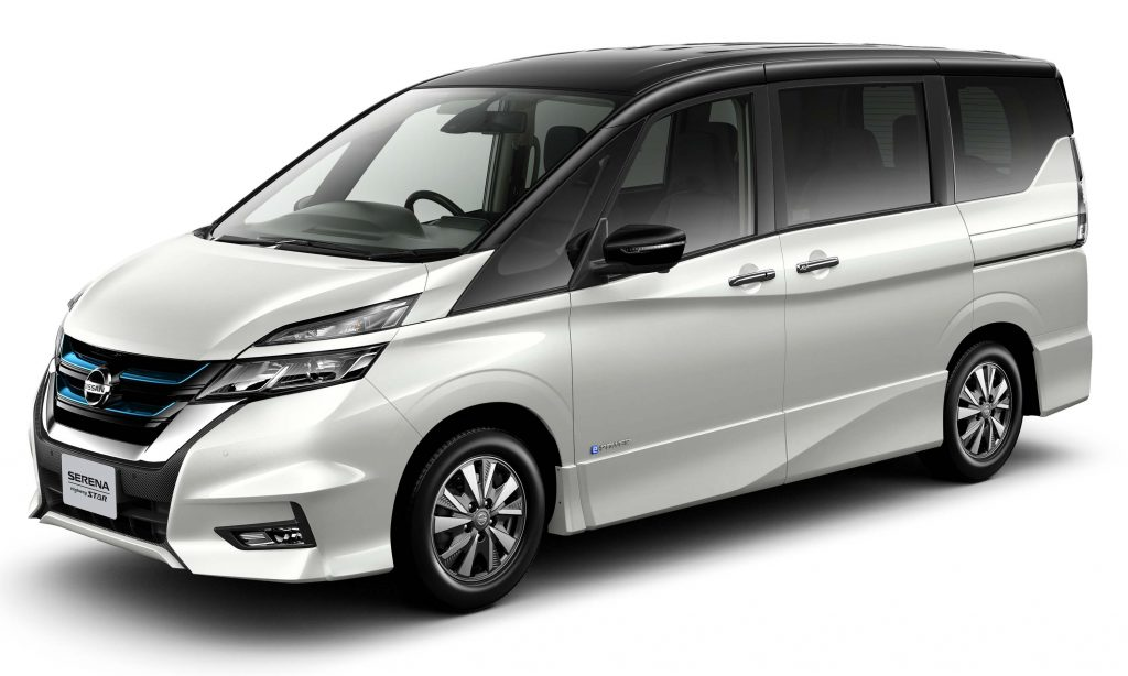 Nissan Serena e-Power (2018, C27, fifth generation, JDM ...