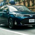 Toyota Corolla Axio (2017 facelift, E160, 11th generation, JDM) photos
