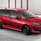 Toyota Corolla Fielder (2017 facelift, E160, 11th generation, JDM) photos