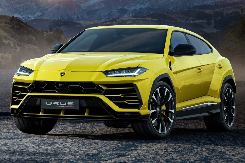 Lamborghini Urus 2018 First Generation Photos Between