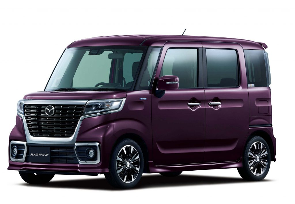 Mazda Flair Wagon Custom Style (2018, second generation ...
