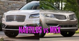 2019 Lincoln Nautilus vs 2016-18 MKX: Facelift differences and changes