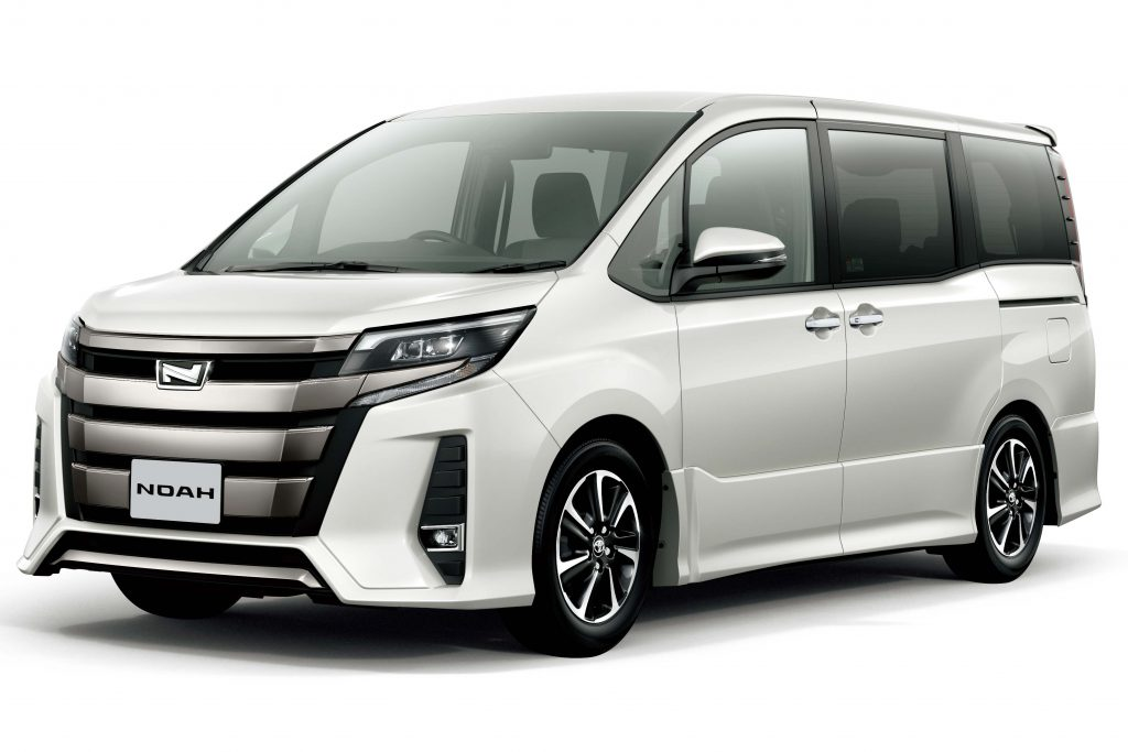Toyota Noah Si WxB (2017 facelift, R80, third generation ...