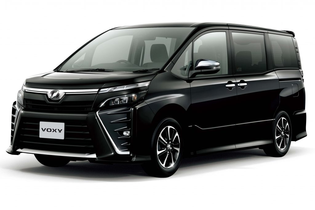 Toyota Voxy Zs 2017 Facelift R80 Third Generation Jdm