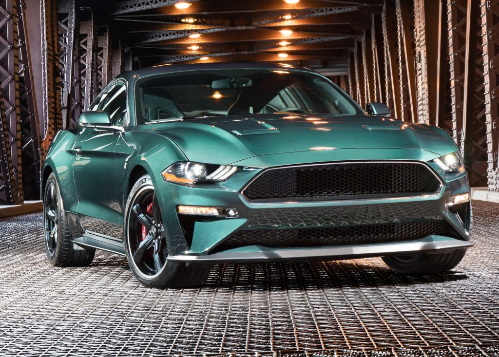 Ford Mustang Bullitt (2019, sixth generation) photos ...