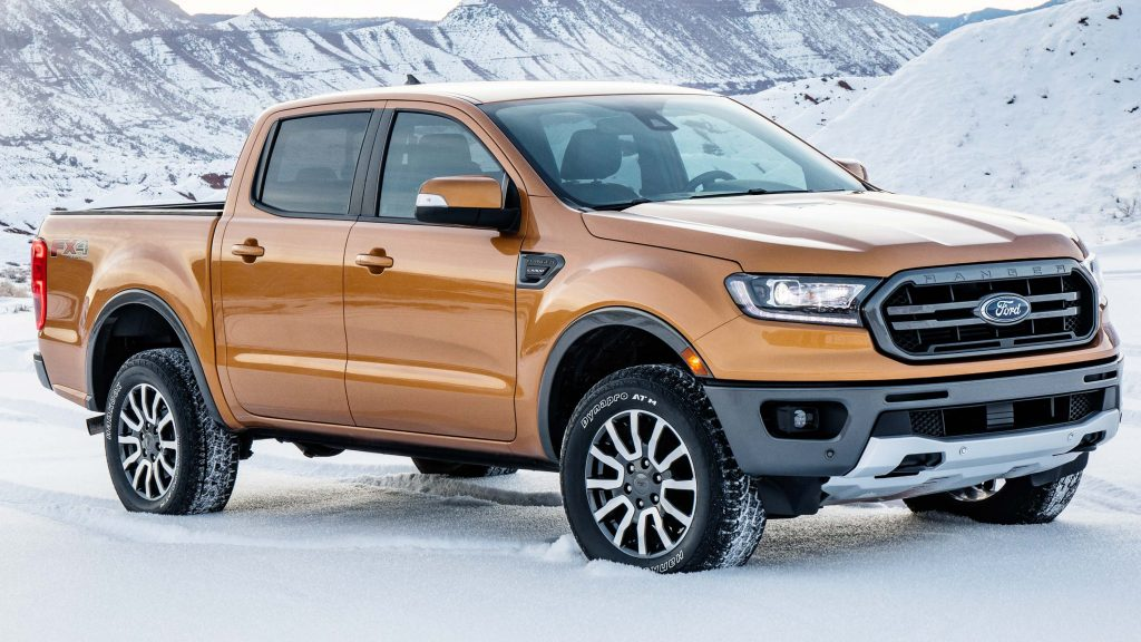 Ford Ranger (2019, third generation, USA, T6) photos ...