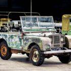 1948 Land Rover Mark I Prototype restoration project (LR70, 2018) photos