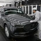Mazda CX-8 production at Ujina (2017, JDM, first generation) photos