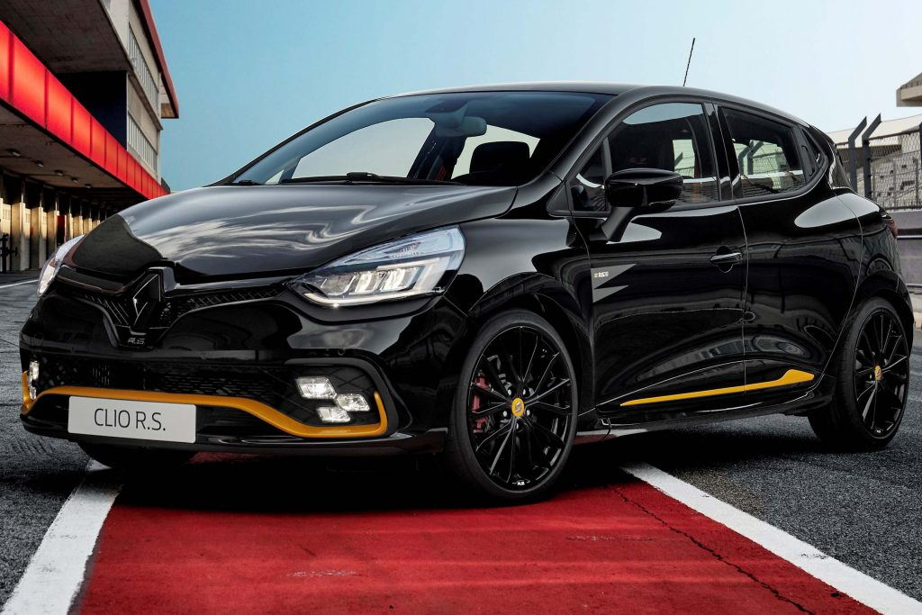 renault clio rs 18 2018 iv fourth generation photos between the axles. Black Bedroom Furniture Sets. Home Design Ideas