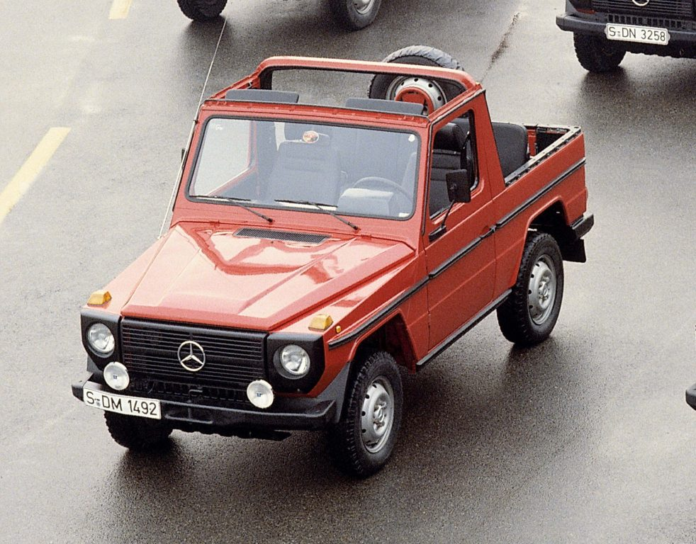 Mercedes-Benz G-Wagen (1979, W460, first generation G ...
