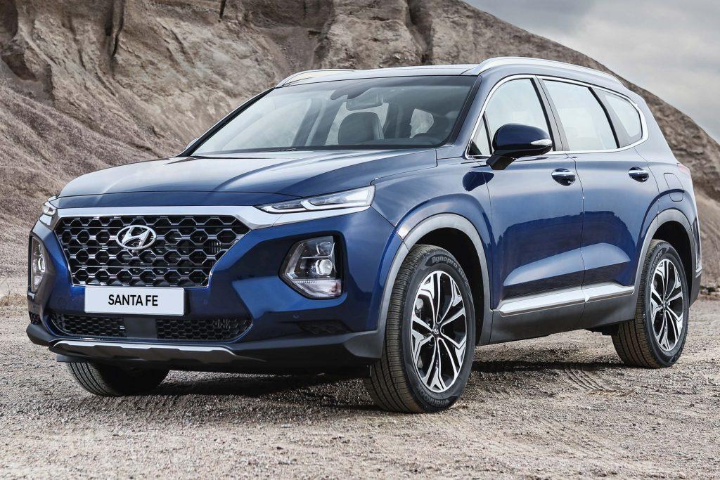 Hyundai Santa Fe (2018, TM, fourth generation) photos ...