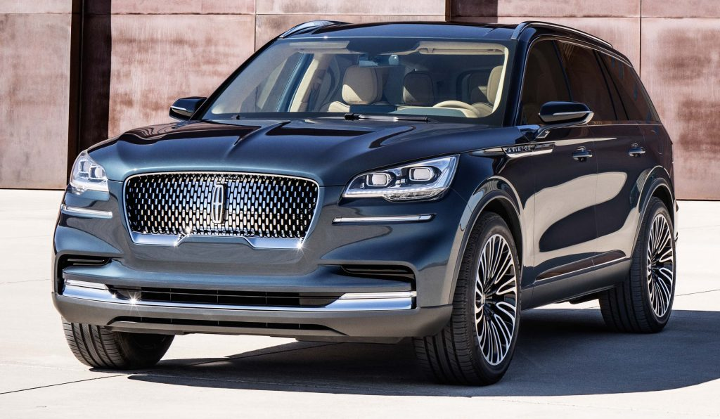 Lincoln Aviator Concept (2018, second generation, USA) photos | Between the Axles