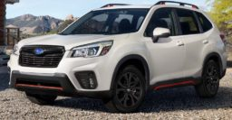 Subaru Forester, Crosstrek are too popular, so don't need the 2.4L turbo