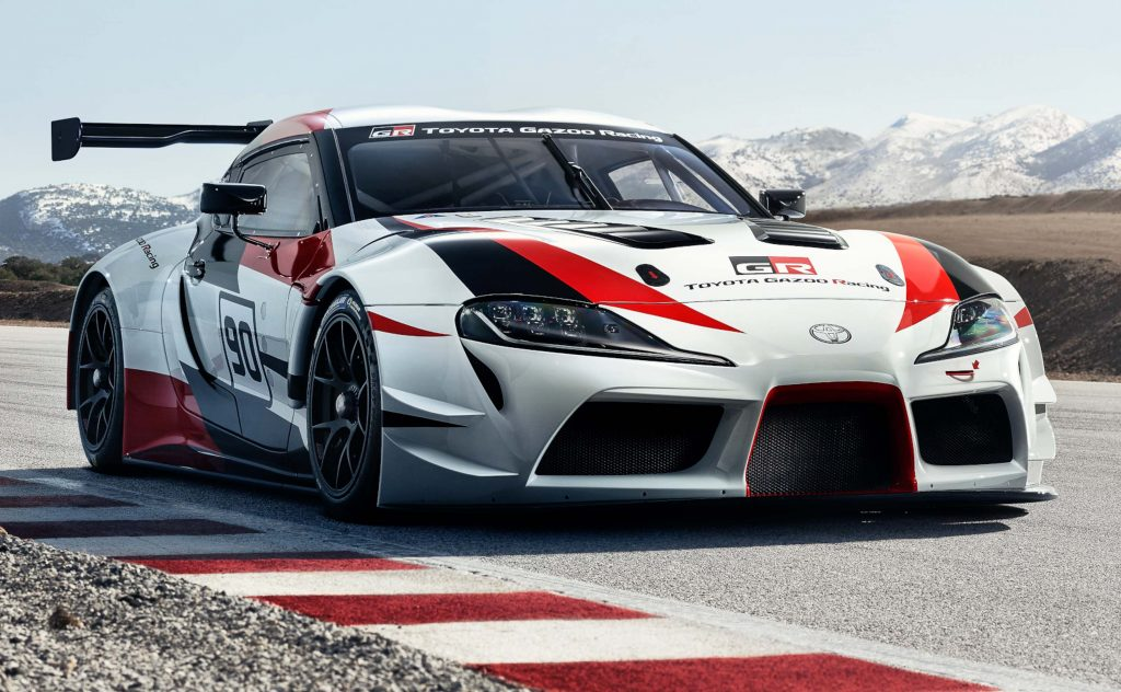 Toyota Supra Gr Racing Concept 2018 Fifth Generation