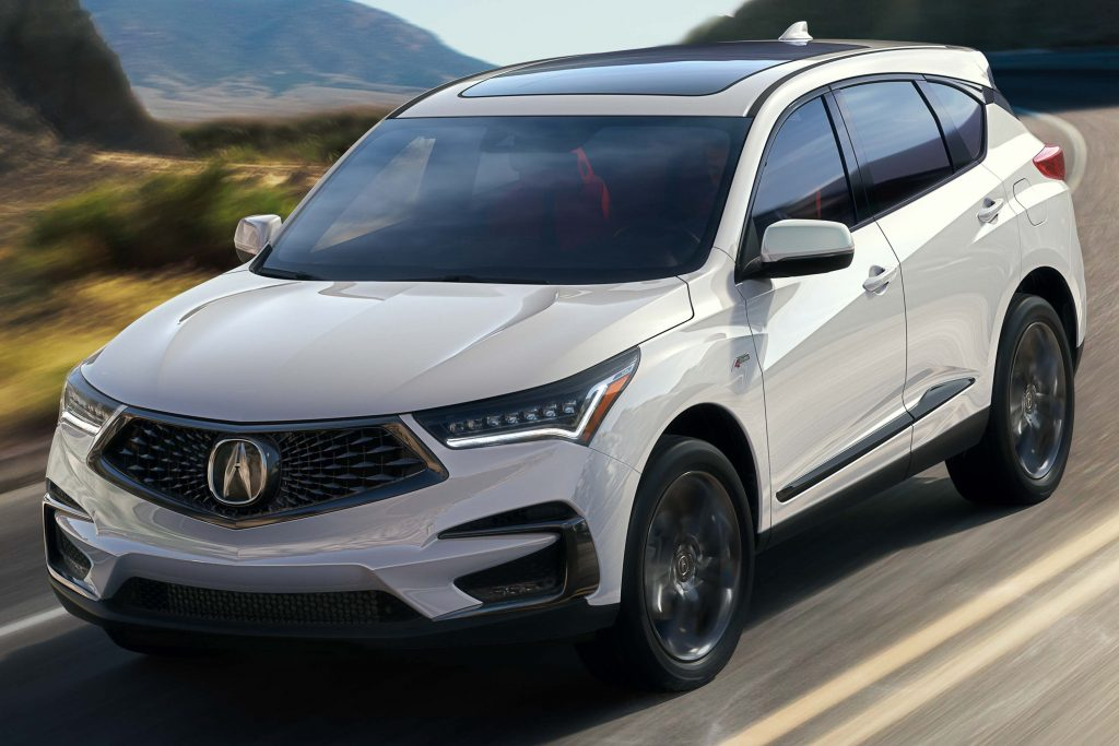 Acura RDX A-Spec (2019, third generation, USA) photos ...