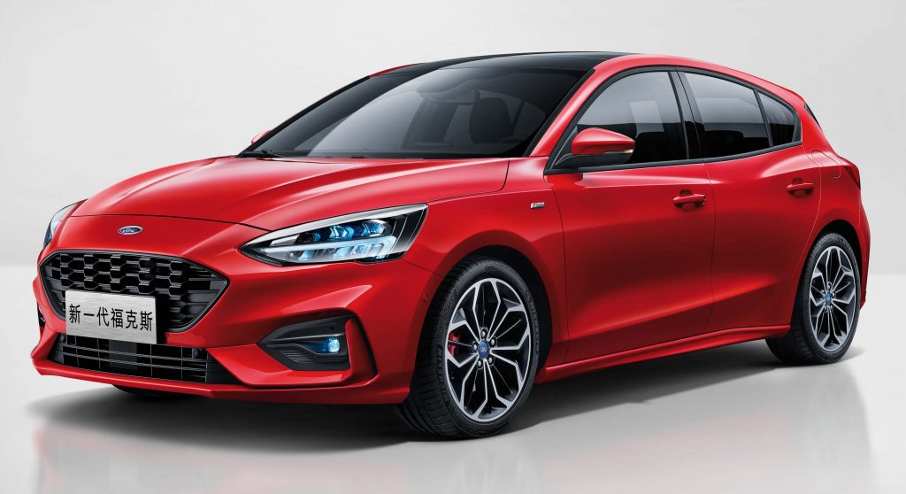 Ford Focus ST-Line hatch (2019, fourth generation, China) photos | Between the Axles