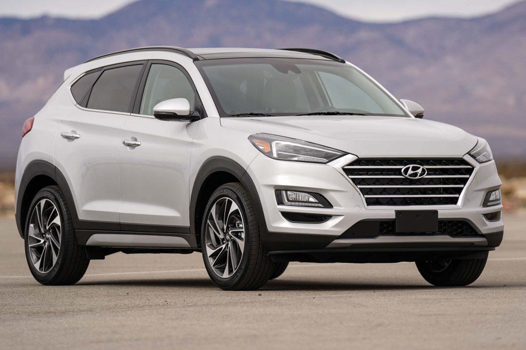 Hyundai Tucson (2019 facelift, TL, third generation, USA) photos | Between the Axles