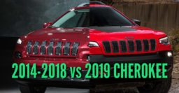 2019 Jeep Cherokee vs 2014-2018: Facelift differences compared