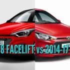 2018 Hyundai i20 facelift vs 2014-2017: Facelift changes and differences