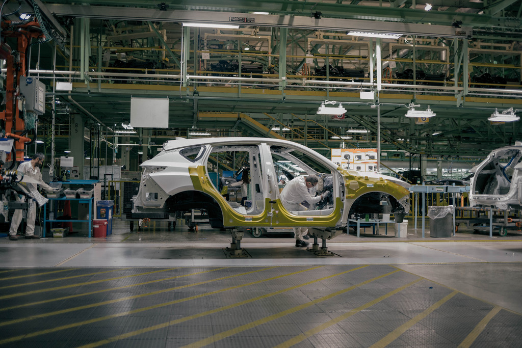 2019 acura rdx production begins at east liberty ohio factory between the axles. Black Bedroom Furniture Sets. Home Design Ideas