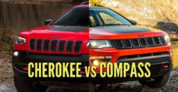2018 Jeep Compass vs 2019 Jeep Cherokee: Sibling differences