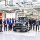 2019 Mercedes-Benz G-Class (W464) production begins alongside W461