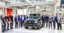 2019 Mercedes-Benz G-Class (W464) production begins alongside W461