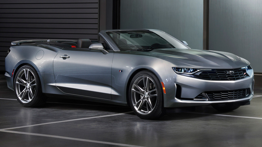 Chevrolet Camaro RS convertible (2019 facelift, sixth ...