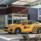 Ford Fusion Hybrid Taxi (2019, second generation, USA, NYC) photos