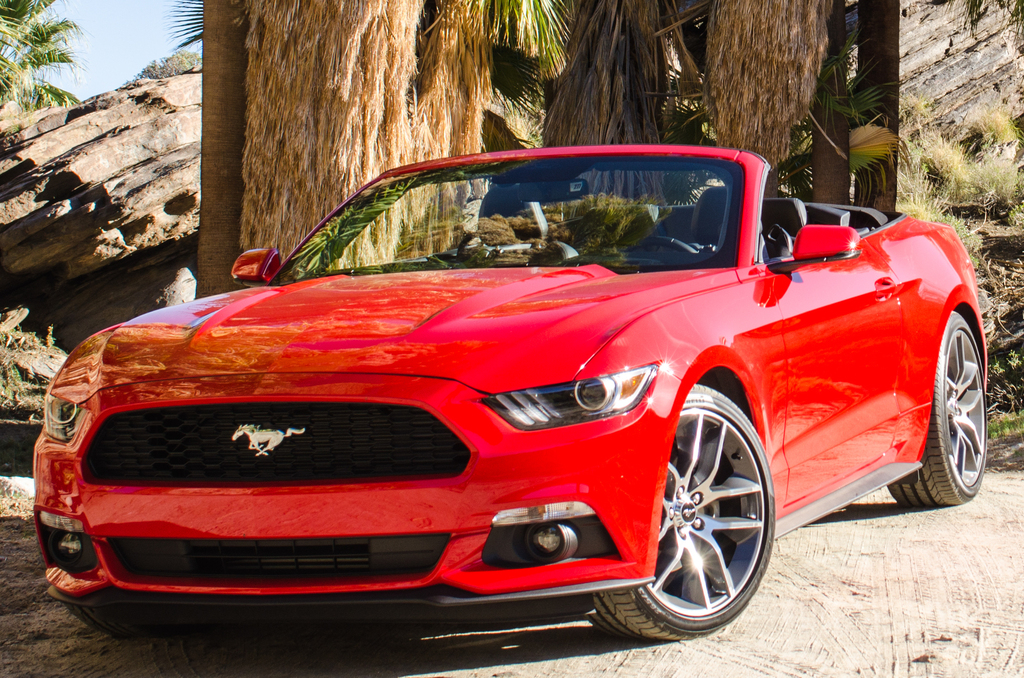 mustang ford convertible generation sixth front usa gen 6th palm springs