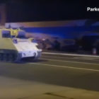 M577 APC chased by police in Virginia (2018) photos