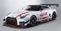 2018 Nissan GT-R GT3 has dry sump engine moved back 150mm (5.9″)