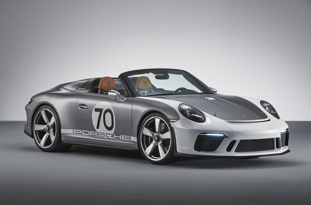 Porsche 911 Speedster Concept 2018 Type 991 2 Photos Between The Axles