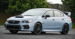 2019 Subaru WRX STI and WRX Series.Gray unveiled at Boxerfest