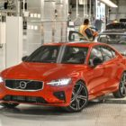 Volvo S60 launch, South Carolina factory (2019, third generation) photos