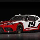 A90 Toyota Supra provides look for 2019 NASCAR Xfinity Series race car
