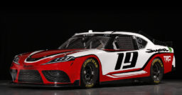 A90 Toyota Supra provides look for 2019 NASCAR Xfinity Series race car