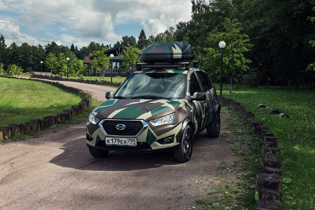 Datsun Mi-Do for Outdoor Leisure Concept (2018, first ...