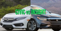 2019 Honda Insight vs 2016-2018 Honda Civic: Sibling differences compared