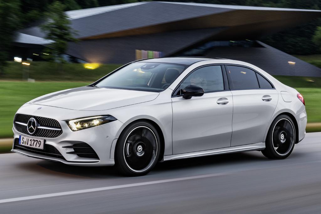 2019 mercedes benz a class sedan standard wheelbase model for Mercedes benz models