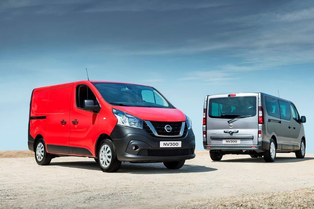 Nissan NV300 (2016, X82, first generation, EU) photos
