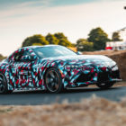 Toyota Supra prototype (2019, A90, fifth generation, Goodwood 2018) photos