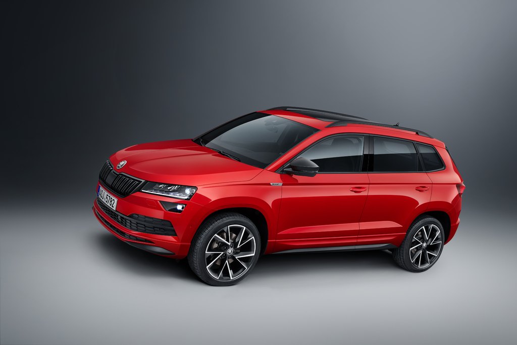 2018 skoda karoq sportline it s definitely not an rs or vrs between the axles. Black Bedroom Furniture Sets. Home Design Ideas