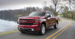 2019 Chevrolet Silverado 4-cylinder has 20mpg city, 23mpg highway rating
