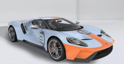 2019 Ford GT Heritage Edition wears classic Gulf Oil colors