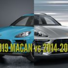 2019 Porsche Macan vs 2014-2018: Facelift differences & changes compared