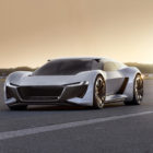Audi PB18 e-tron: Mid-engine shooting brake EV for both road and track